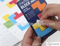 block memo