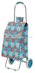 Blue Useable Shopping Trolley Bag