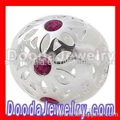 european Daisy Flower Charm Wholesale