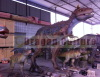 Fun park outdoor dinosaur exhibition equipment