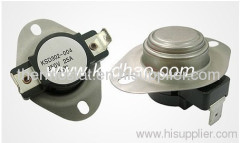 KSD302 high current thermostat, KSD302 high current thermal protector