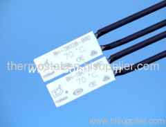 rechargeable battery thermal protector, rechargeable battery thermostat