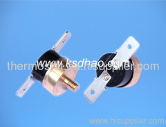 KSD301 thermostat with M4 screw, KSD301 M6 copper head thermal switch