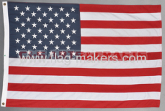 Custom 3*5ft America Embroidered flag