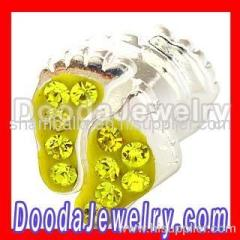 european Baby Footprint Charm Wholesale