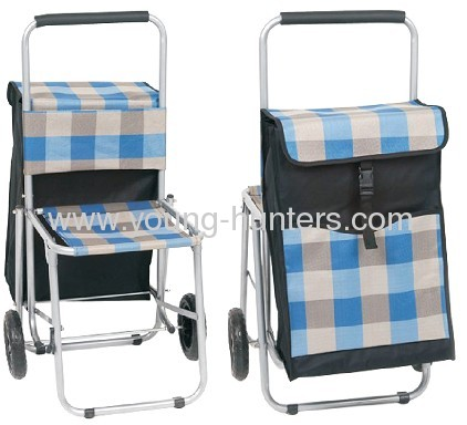 Climb Stair Shopping Trolley Cart