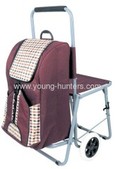 2 wheels light-weight trolley bag for shopping