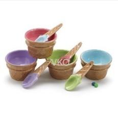Ceramic Ice Cream Bowls For Summer