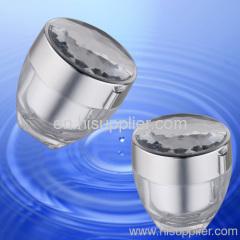 Diamond cap acrylic Jar