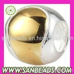 2012 The Best-selling 925 sterling silver Tennis Ball Beads for European Bracelet