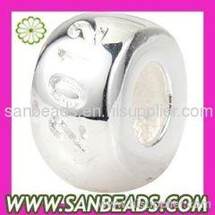 925 Sterling Silver 2012 Play Slim Beads Suit 2012 Olympics European Bracelet