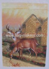 wild deer garden flag maker