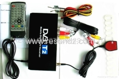 Car mobile DVB-T2 Digital TV Receiver