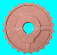 Plastic conveyor sprocket 24T interlocked bricklayed pattern with full length hinge rods