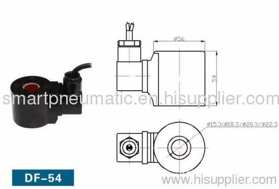 solenoid coil,High strength waterproof , Submarine Solenoid Valve