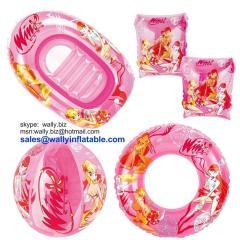 Inflatable Set, Inflatable swim set, inflatable beach set, inflatable gift set