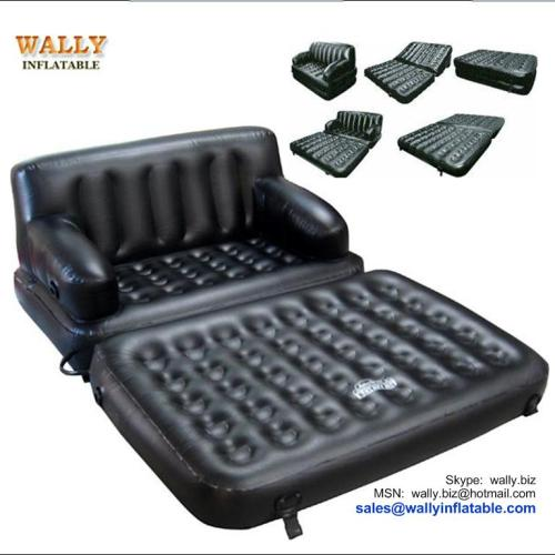 5 In 1 Sofa Bed 5 In 1 Inflatable Sofa Bed 5 In 1 Inflatable Flocked Air Bed Wl8805 Manufacturer From China Wally Inflatable Co Ltd