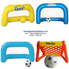 inflatable goal, inflatable football goal, inflatable football goal set