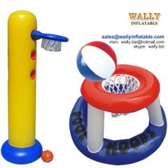 inflatable basketball goal, inflatable basketball game, inflatable basketball hoop