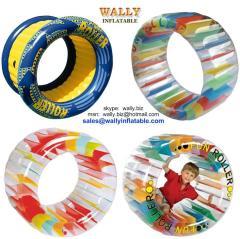 Inflatable roller, inflatable fun roller, inflatable water roller, inflatable wheel roller