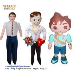 inflatable man, inflatable boy, inflatable human, inflatable character, inflatable boss