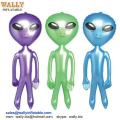 inflatable toy, inflatable alien, inflatable alien toy, blow up inflatable alien, PVC inflatable alien