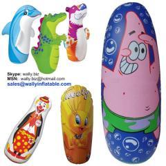 bop bag, inflatable tumbler, inflatable bop bag, bop bag for kids