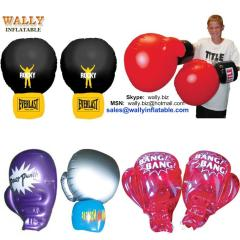 inflatable glove, PVC hand gloves, inflatable boxing gloves, inflatable punching glove
