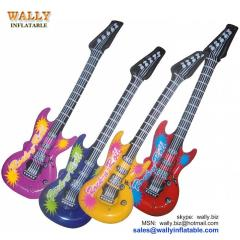 inflatable guitar, inflatable guitar toy, mini inflatable guitar, small inflatable guitar