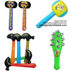 inflatable hammer, inflatable hammer toy, small inflatable hammer, inflatable toy