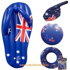 Aussie inflatable, inflatable swim set, inflatable beach set, Australian inflatable, inflatable thong