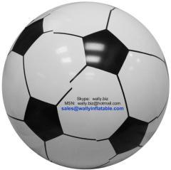 inflatable football, football beach ball, inflatable soccer, soccer beach ball