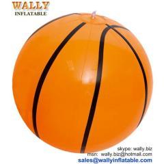 inflatable basketball, basketball beach ball, inflatable basketball beach ball