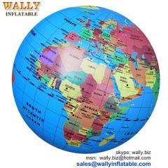 inflatable globe, inflatable earth, globe beach ball, inflatable globe ball, inflatable world