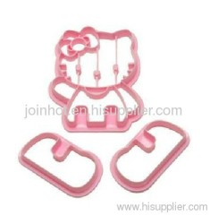 hello kitty cookie cutter pink + card packing Cake tools Pastry Tools cake decoration set