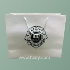 embossing paper bag