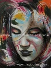 Pop art of a girl