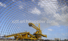 Philippine Panay Power Plant Coal Storage Space Frame Roof Project