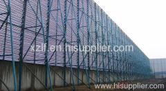 Ningxia Tongxin County wall of dust wind board mesh