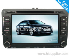 7inch VW GOLF5 Car DVD GPS Navigation with USB TV Bluetooth MP3 Radio/RDS HD TFT LCD Touch screen