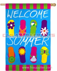 Custom Summer slippers banner