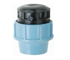 PP End Cap Compression Fittings With Pressure PN16