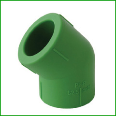 PPR 45 Degree Elbow Pipe Fittings