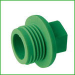 PPR Plug Pipe Fittings With PN25