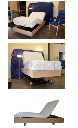 Home care and nursing Electric lifting bed