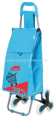 Marketeer PVC Shopping Trolley With 6 Wheels