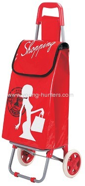 good promotion marketeer folding shopping trolley