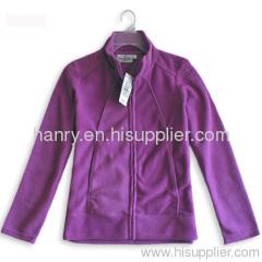 fleece sweater zipper jacket