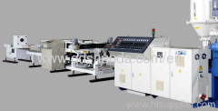 CPVC PVC double wall Corrugated Pipe Extrusion Line