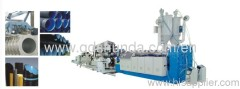 PVC DOUBLE-WALL CORRUGATED PIPE PRODUCTION LINE